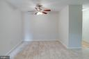 Dining Room with brand new carpet - 545 FLORIDA AVE #T1, HERNDON