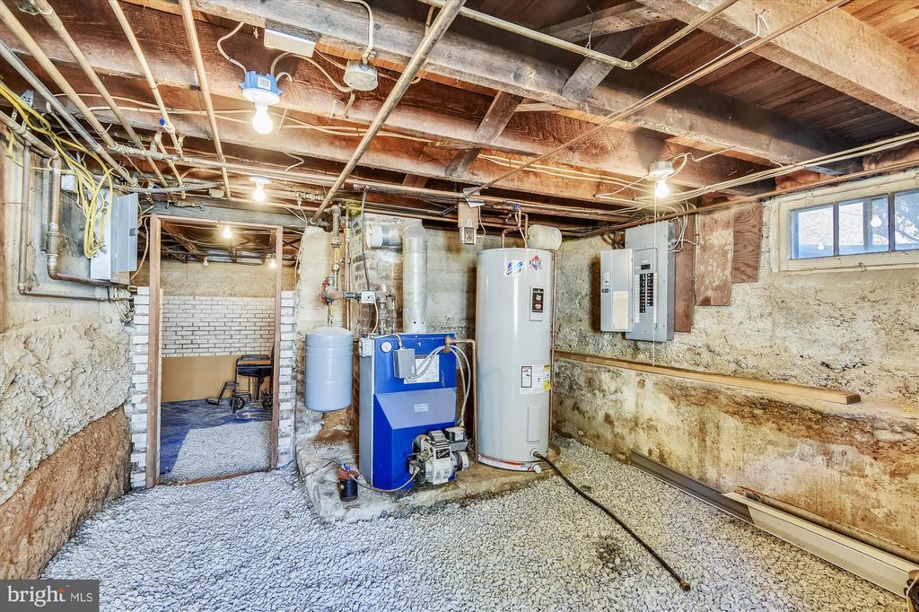 Utility room in Cellar - 118 CATOCTIN CIR NE, LEESBURG