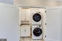 Large Capacity Washer and Dryer - 10811 CRIPPEN VALE CT, RESTON