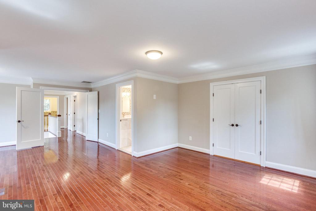 Huge Light Filled Master Bedroom - 10811 CRIPPEN VALE CT, RESTON