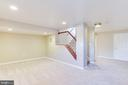 Large Basement Sitting Area - 10811 CRIPPEN VALE CT, RESTON