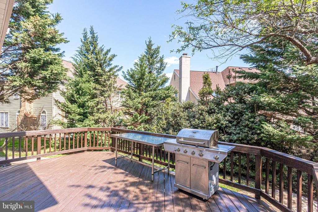 Stainless Grill & Table Convey - 10811 CRIPPEN VALE CT, RESTON