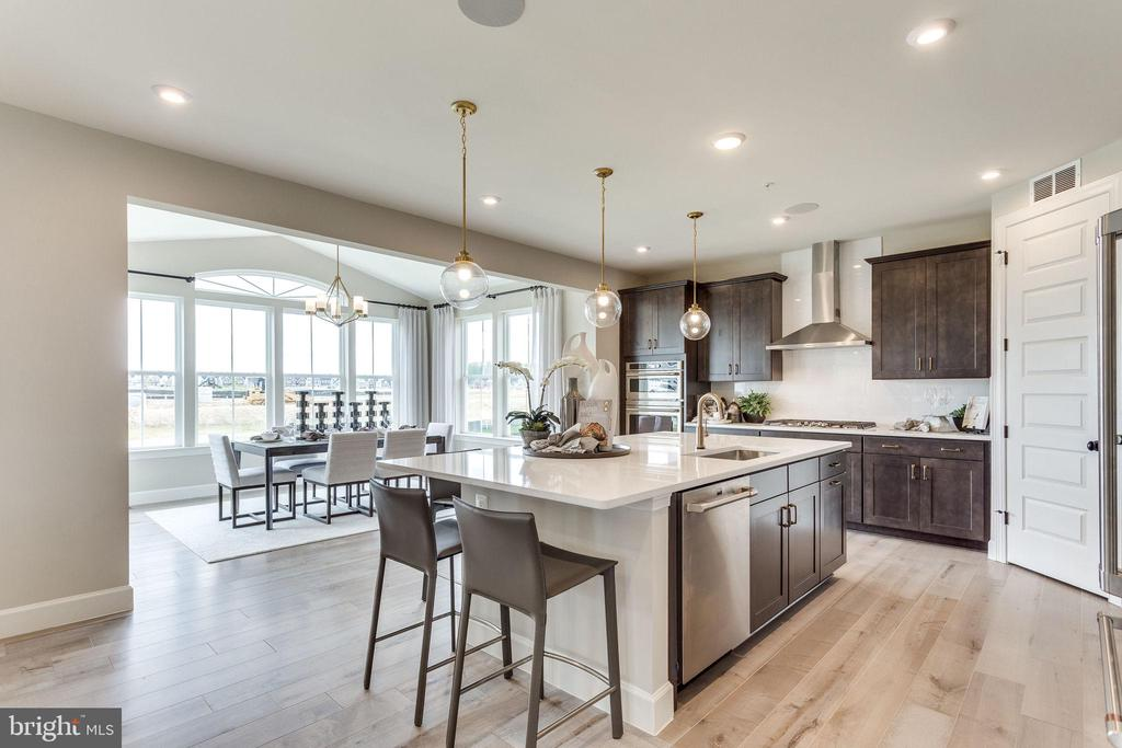 Model Home-~Kitchen - EMBREY MILL ROAD- YELLOWSTONE, STAFFORD