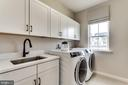 Model Home-~Laundry Room - EMBREY MILL ROAD- YELLOWSTONE, STAFFORD