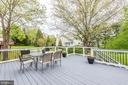 Rear Deck - 5117 NORTHERN FENCES LN, COLUMBIA