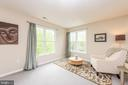 Master Bedroom / Sitting Room - 5117 NORTHERN FENCES LN, COLUMBIA