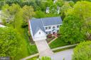 Aerial Front - 5117 NORTHERN FENCES LN, COLUMBIA