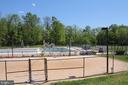 Community outdoor pool-Alt view - 1594 WOODCREST DR, RESTON