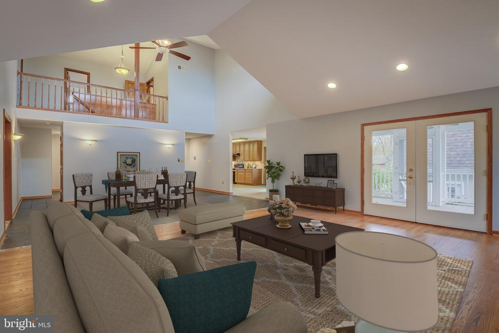 Open Concept Abounds This Lovely Family Home - 5917 WILD FLOWER CT, ROCKVILLE