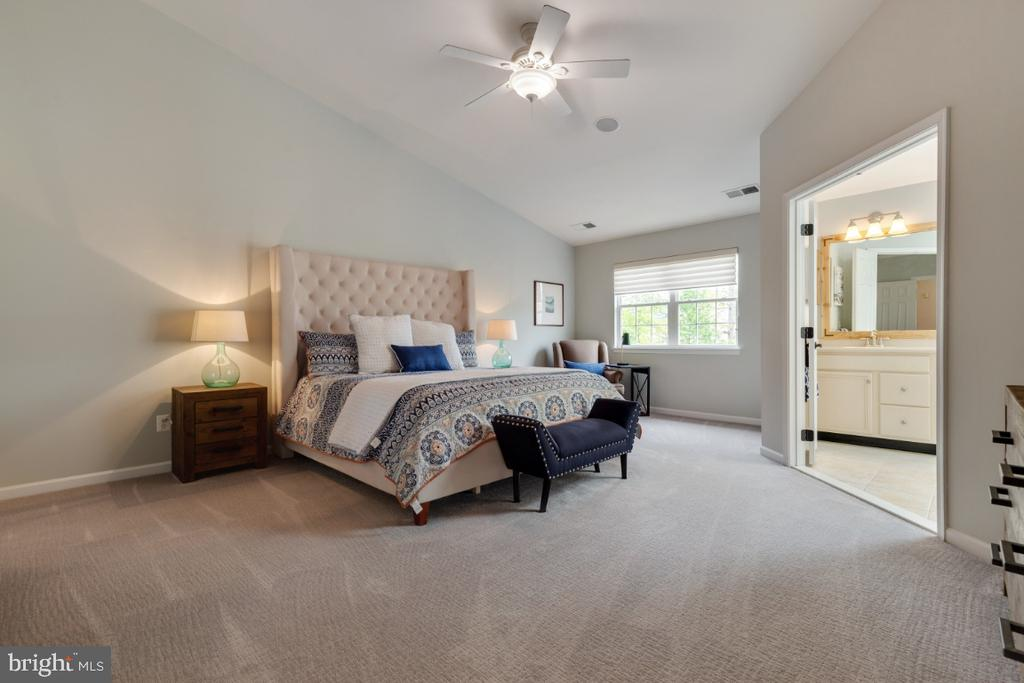 Spacious Master Bedroom Suite - 43392 FRENCHMANS CREEK TER, ASHBURN