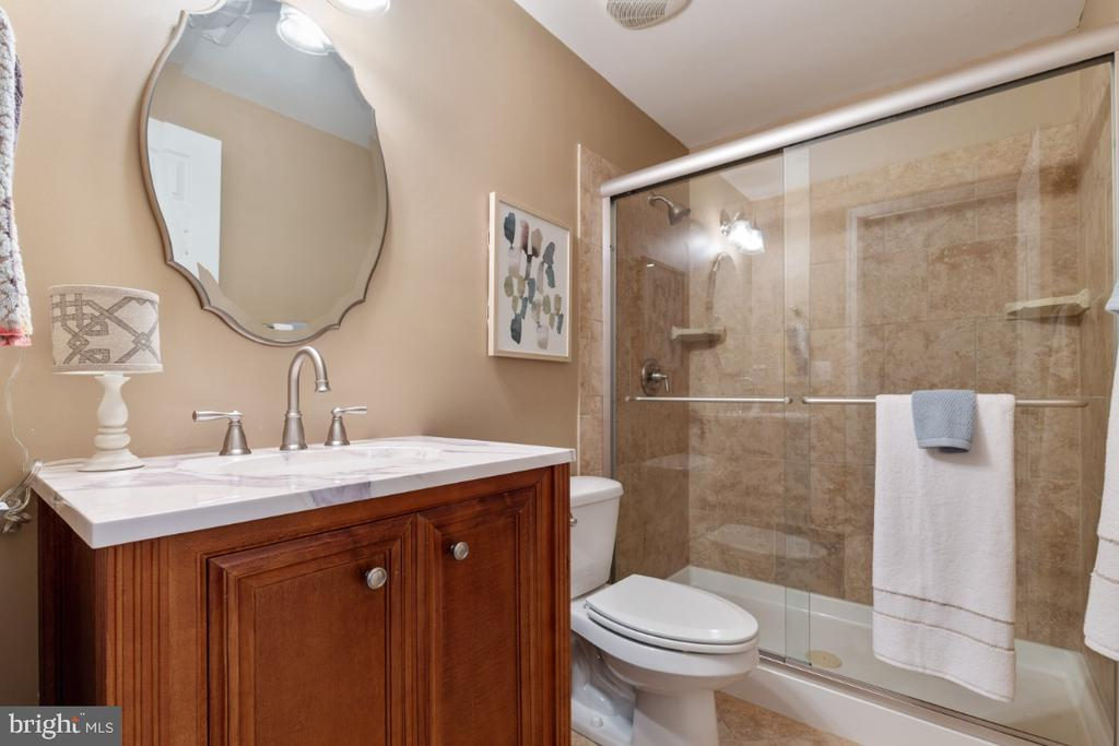 Full Bathroom on the Lower Level - 43392 FRENCHMANS CREEK TER, ASHBURN