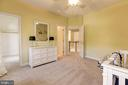 Bedroom 4 with full bath - 43285 OVERVIEW PL, LEESBURG