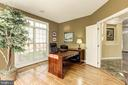 Office with light and hardwoods - 43285 OVERVIEW PL, LEESBURG