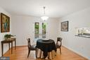 Outside access to side patio from dining room - 3030 N QUINCY ST, ARLINGTON