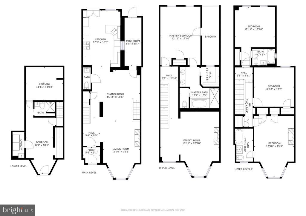 Floorplan - 2805 Q ST NW, WASHINGTON