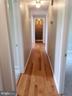 Main Level Hallway to 3 Bedrooms  -2 baths - 11629 DUTCHMANS CREEK RD, LOVETTSVILLE