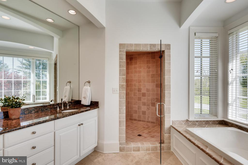 Master Bath with spacious shower - 2200 GADD RD, COCKEYSVILLE