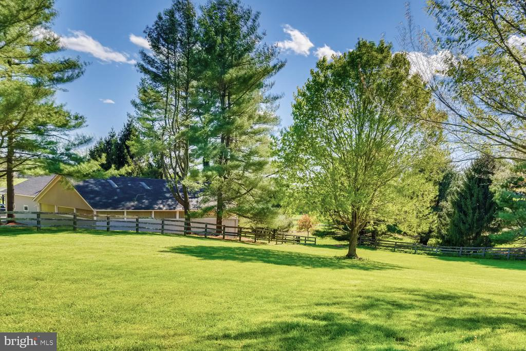 Driveway to 8-stall stable, dressage barn/garage 2 - 2200 GADD RD, COCKEYSVILLE