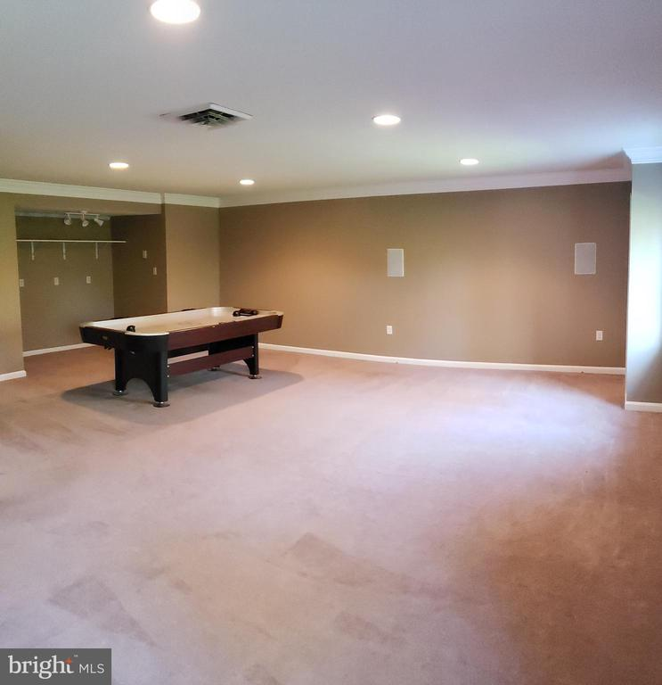 Family Room with 2 Windows in Basement - 2714 JAY BIRD CT, KNOXVILLE