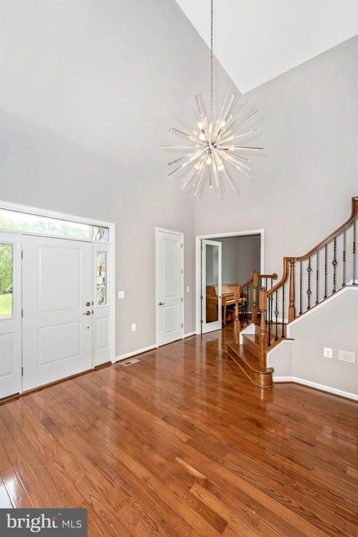 Grand Two Story Foyer With Stunning Features - 3026 OLD ANNAPOLIS TRL, FREDERICK