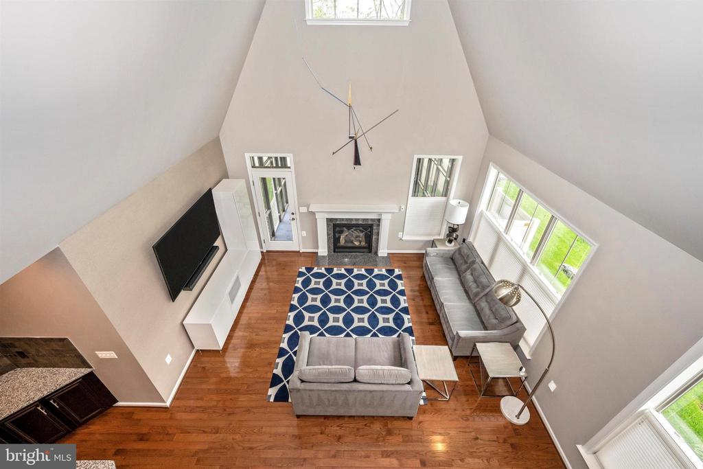 View of Great Room from Upper Loft - 3026 OLD ANNAPOLIS TRL, FREDERICK