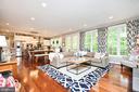 Family Room/Kitchen - 10920 RAVENWOOD DR, MANASSAS