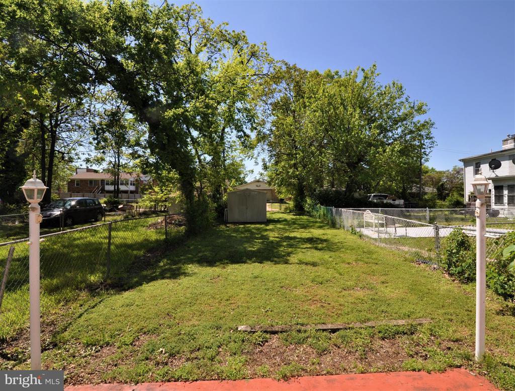Back Yard - 4315 POLK ST NE, WASHINGTON