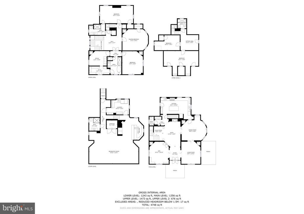 Floor Plans - 3601 MACOMB ST NW, WASHINGTON