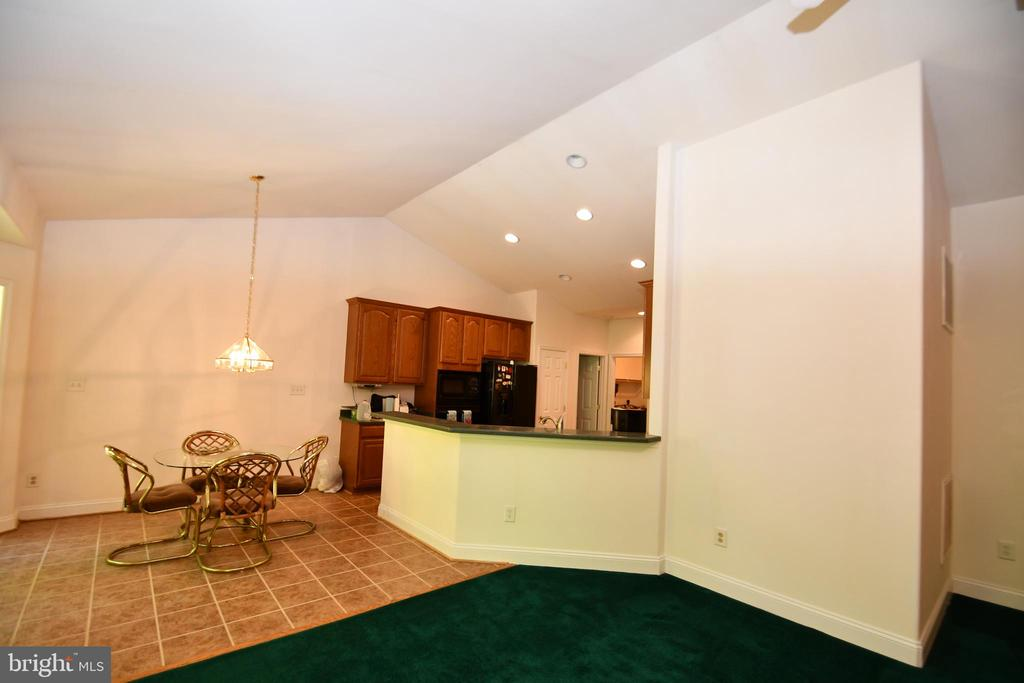 View of kitchen from Family Room - 79 MILLBROOK RD, STAFFORD