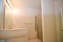 Master Bath - separate shower - 79 MILLBROOK RD, STAFFORD