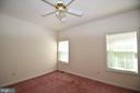 Bedroom 2 with door to full bath - 79 MILLBROOK RD, STAFFORD