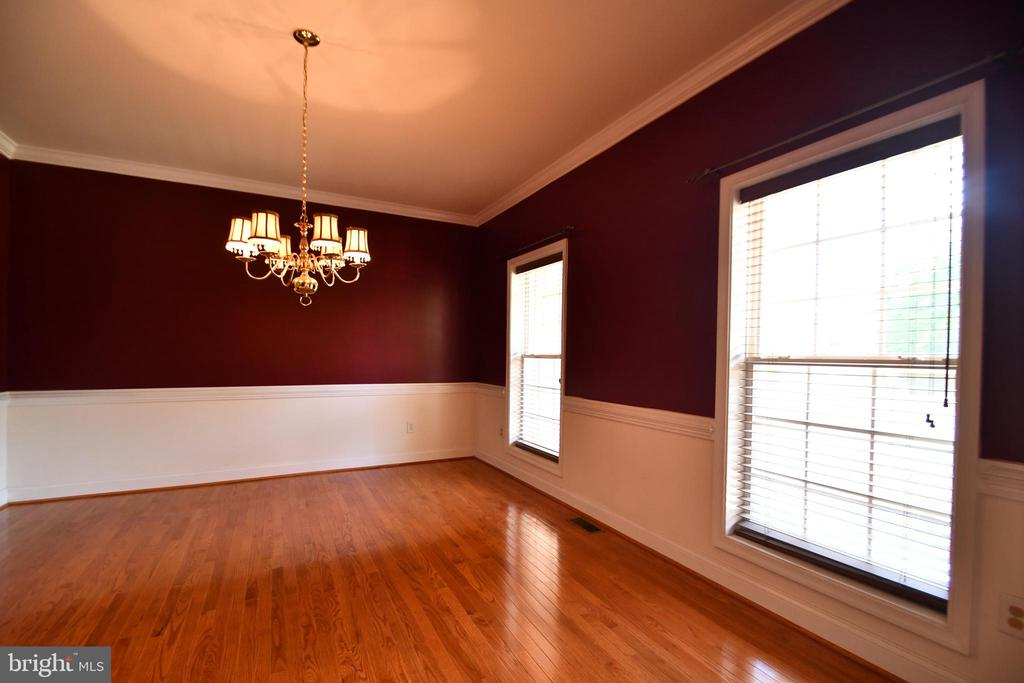 Dining Room with molding - 79 MILLBROOK RD, STAFFORD