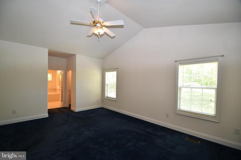 Master Bedroom - vaulted ceiling - 79 MILLBROOK RD, STAFFORD