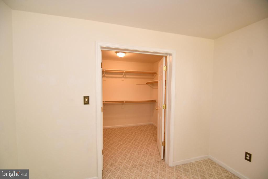 Basement bedroom 4 - closet - 79 MILLBROOK RD, STAFFORD