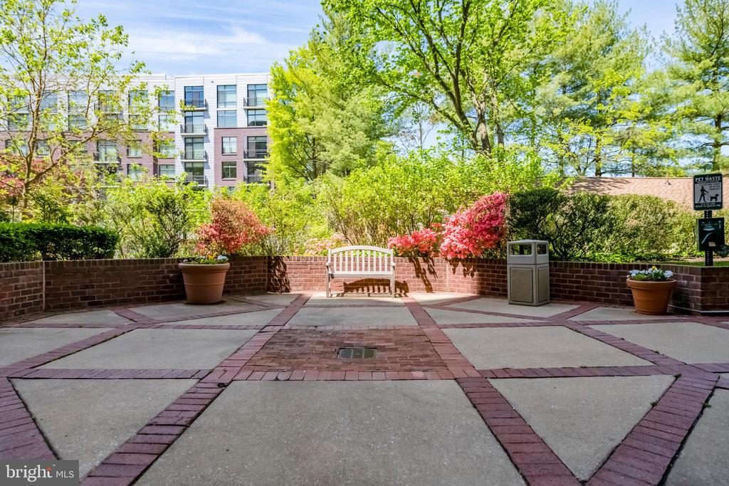 Outdoor Gathering Spot - 7500 WOODMONT AVE #S902, BETHESDA