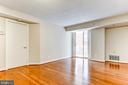 Living Dining Room - 7500 WOODMONT AVE #S902, BETHESDA