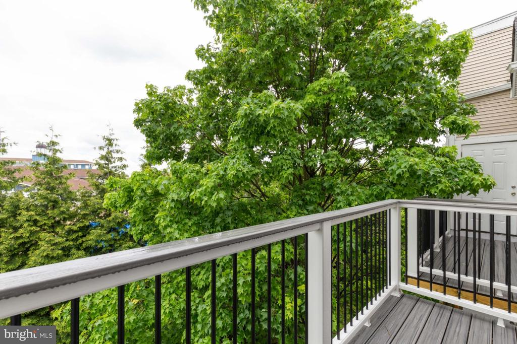 Balcony off the 1st Master Bedroom - 20578 SNOWSHOE SQ #301, ASHBURN