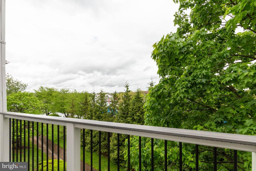 Balcony View of the 1st Master Bedroom - 20578 SNOWSHOE SQ #301, ASHBURN