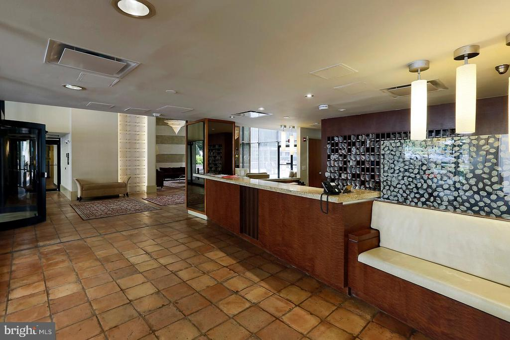 Lobby - 4620 N PARK AVE #1411E, CHEVY CHASE