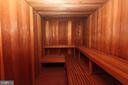 Sauna - 4620 N PARK AVE #1411E, CHEVY CHASE