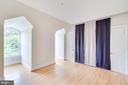 Top-level bedroom with Murphy bed - 808 CAMERON ST, ALEXANDRIA