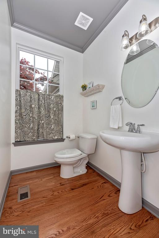 Main level powder room - 9823 NOTTING HILL DR, FREDERICK