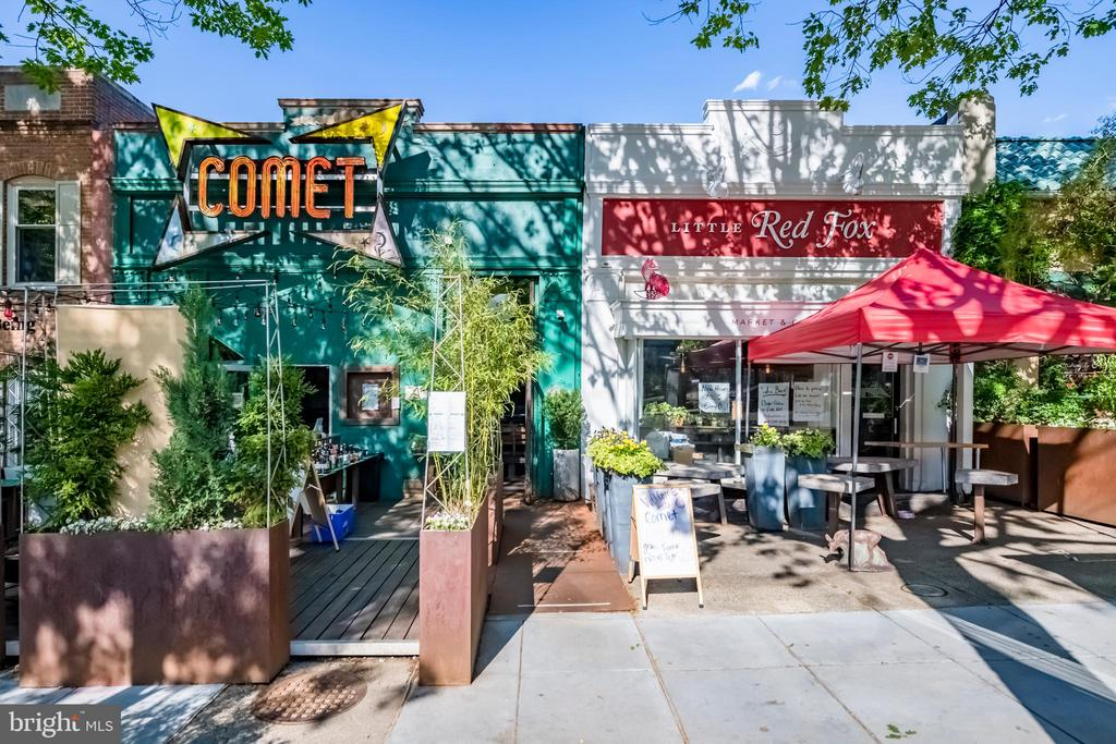 Comet Ping Pong, Restaurant and Bar. - 5135 34TH ST NW, WASHINGTON