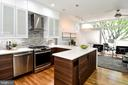 Kitchen/Living Room - 54 G ST SW #113, WASHINGTON