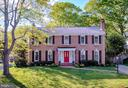 Front entrance of your new stately home - 7114 COLGATE DR, ALEXANDRIA