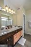Master Bath with dual sinks - 22295 PINECROFT TER, ASHBURN