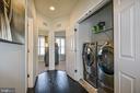 HE Washer/Dryer on Bedroom lvl - 22295 PINECROFT TER, ASHBURN