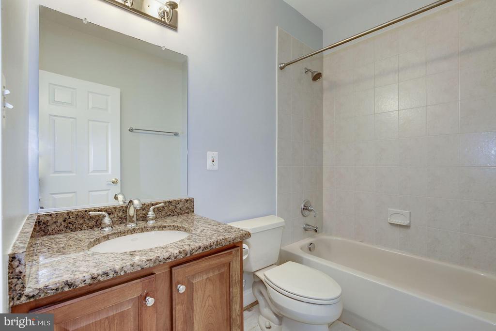 Basement bathroom - 5900 RYLAND DR, BETHESDA