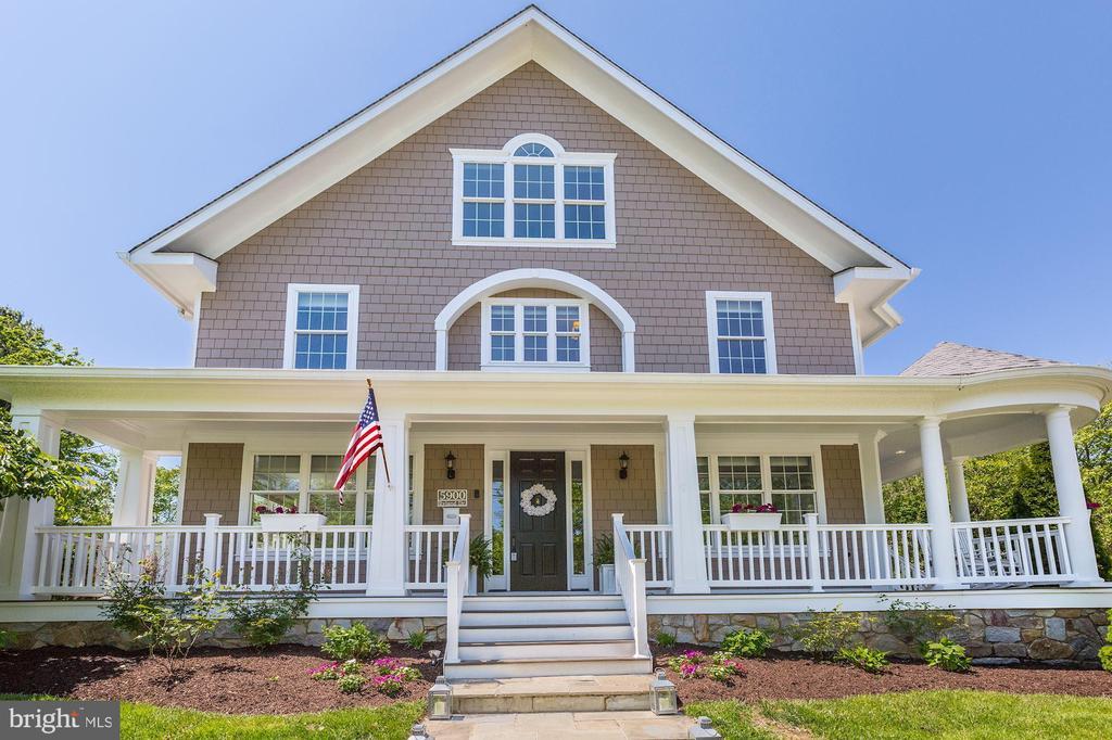 Love the wrap-around porch - 5900 RYLAND DR, BETHESDA