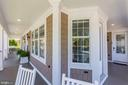 Relax on the wrap-around porch - 5900 RYLAND DR, BETHESDA